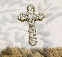 Pewter cross necklace charm Leesburg, 20176