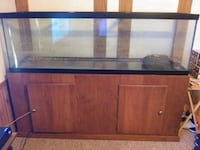125 gallon fish tank with stand
