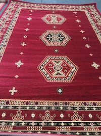 new bokhara rug size 8x11 red carpet Persian style rugs and carpets Burke, 22015