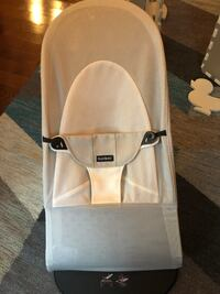 Baby Bjorne white and silver bouncer New York, 10036