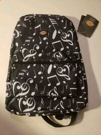 black and white printed backpack Bladensburg, 20710