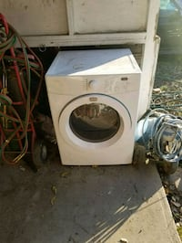 white front-load clothes washer Vancouver, V5R