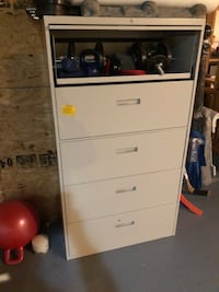 Two Large Filing Cabinets