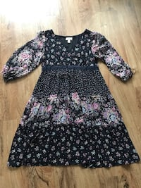 Loft floral dress. Size 10.  Measurements are listed below in Description section.  San Antonio, 78204