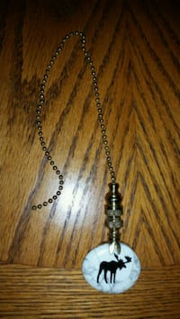 Pull chain for light/fan. Up North theme  Oak Grove, 55011