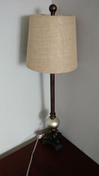 brown and black table lamp Mississauga, L4Y