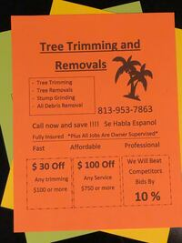 Tree trimming and removals