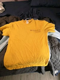 Yellow work shirt$2 Edmonton, T6B 0G6
