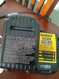 black and yellow DeWalt battery charger West Palm Beach, 33405