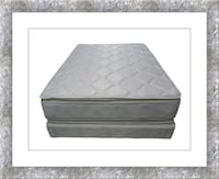 Pillowtop mattress free box and shipping all sizes McLean