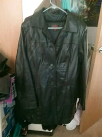 Mens XL danier leather winter jacket.  Selkirk, R1A 1R7