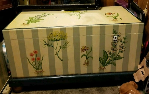 Matching Hope Chest and Cabinet