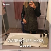 Warehouse jakke str:M