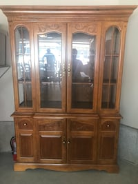 China cabinet and table with 6 chairs  Sherwood Park, T8H