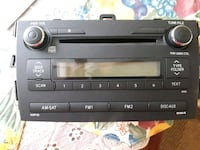 black 1-DIN car stereo head unit Brantford, N3S