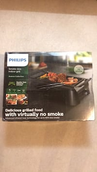 BRAND NEW PHILIPS SMOKE-LESS GRILL Toronto, M2P 1R8