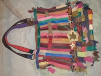 pink, yellow and brown floral shoulder bag San Antonio, 78249