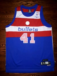 Washington Bullets Wes Unseld Throwback Jersey  Toronto, M6A 2T9