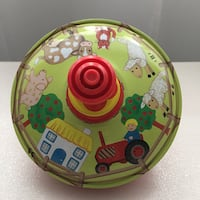 Farm Spinning Top / Toupie Ferme Montreal