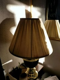 Gold and black table lamp Baton Rouge, 70820