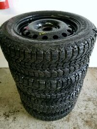Ford fiesta/focus rims and winter tires  Toronto, M6L 1A4