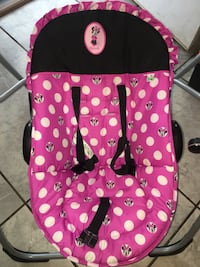 Minnie Mouse baby swing