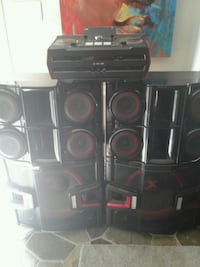 LG dj system 4 speakers Woodbridge, 22192