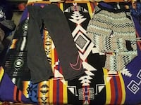 Pants size large and small