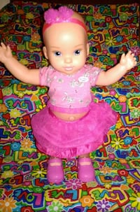 baby doll in pink dress Warner Robins, 31093