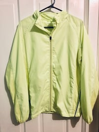 Yellow Windbreaker, Workout by Atmosphere Toronto, M6K 3E8