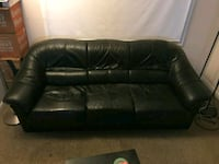 Black Leather Sofa  Arlington, 22206