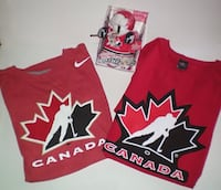 Team Canada Nike And Sogo T Shirts Size Large London
