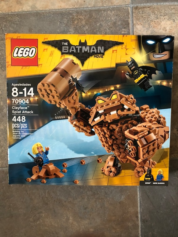 The Batman movie lego set