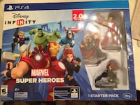 ps4 marvel super heroes figures set in box Winchester, 22601