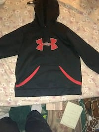 black and red Under Armour pullover hoodie Slatington, 18080