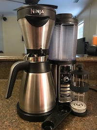 Ninja coffee maker, works great. Upgraded to the newest one so no long need this one.  Newport News, 23608