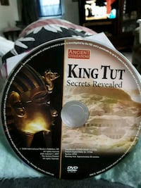 DVD KING TUT SECRETS  REVEALED