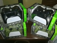 black and green Xbox 360 game controllers Portland, 97219