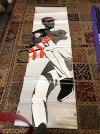 Baltimore Orioles banner. Opening day is coming soon