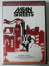 Brand new Mean Streets special edition dvd