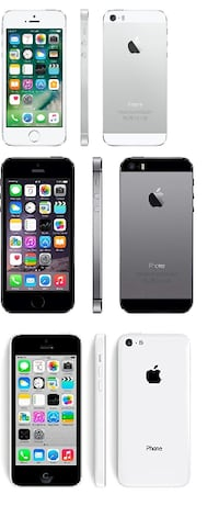 Unlocked Apple iPhone 5s 16GB (1 new, 1 used), iPhone 5c 8GB (FIRM PRICE, PICK UP ONLY) Toronto