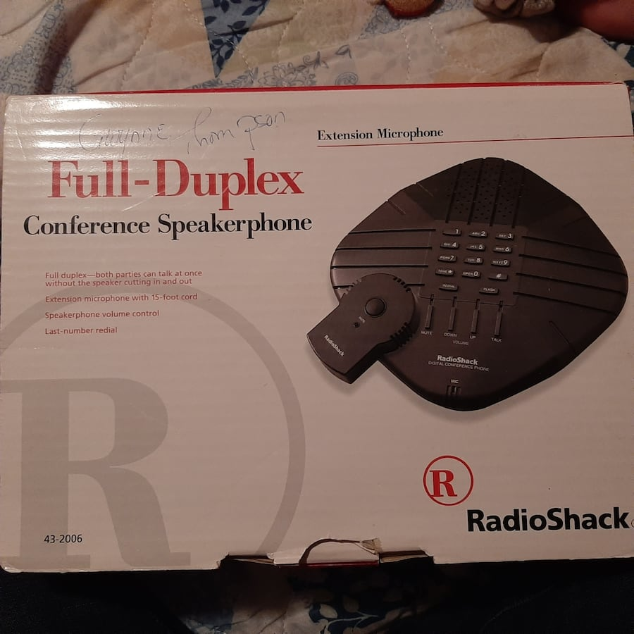 Full duplex conference speakers 43cd27be-efe5-4923-b213-d49a9c95a2f1