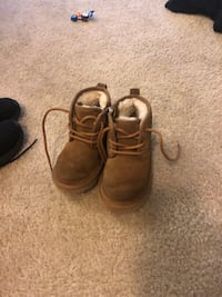 pair of brown suede work boots Jessup, 20794