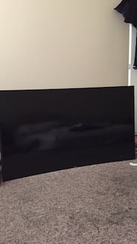 black flat screen TV with remote Melbourne, 32935