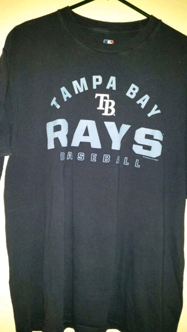 best website 2b9f3 637a5 Tampa Bay Rays large t-shirt