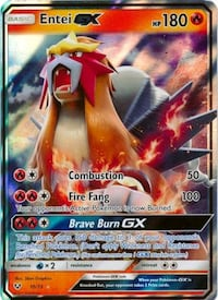 Pokemon card - Ultra Rare__Brave Burn GX
