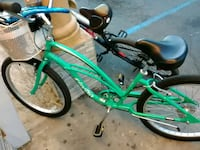 green and black cruiser bicycle Upland, 91786