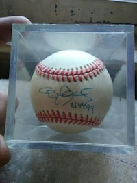 Roger Clemens 1999 Autographed Baseball  Warwick, 10990