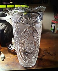 clear cut glass footed bowl Medford, 97501