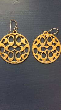 Authentic Coach Earrings  Toronto, M6E 2S2